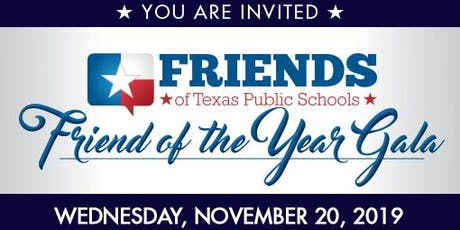 15th Annual Friend of the Year Gala tickets