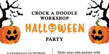 Halloween Party and Crock A Doodle Workshop at the Grimsby Museum tickets
