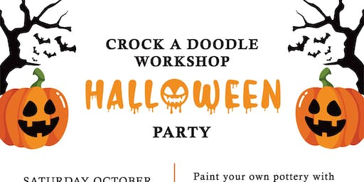 Halloween Party and Crock A Doodle Workshop at the Grimsby Museum