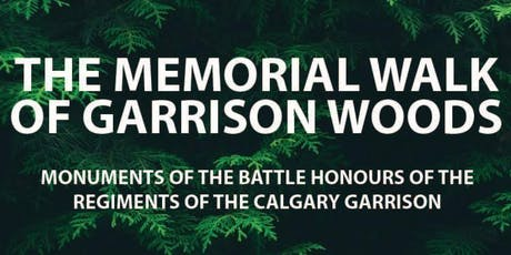 The Memorial Walk of Garrison Woods tickets