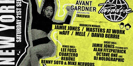 Paradise New York -  Avant Gardner Takeover tickets