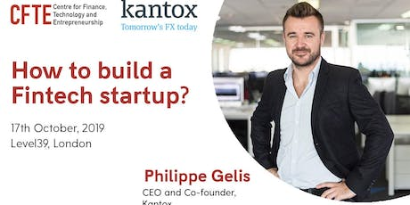 How to build a Fintech startup? tickets