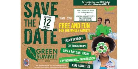 DoE Green Summit 2019 tickets