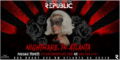 Nightmare in Atlanta IV - Halloween Party tickets