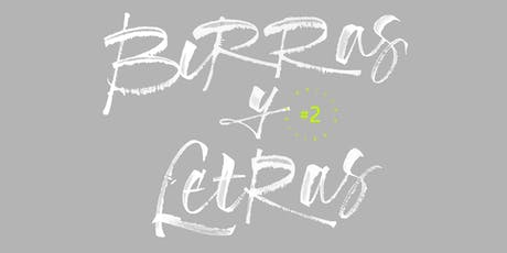 BIRRAS Y LETRAS #2 Papel Principal: Un viaje tipográfico. entradas