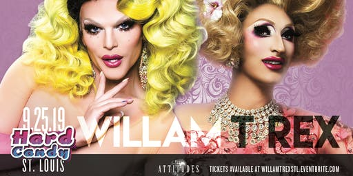Hard Candy St Louis with Willam and T Rex