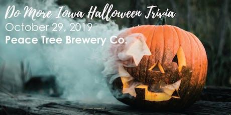 Do More Iowa: Halloween Trivia tickets
