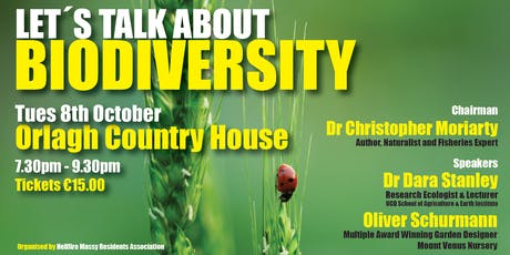 LET'S TALK ABOUT BIODIVERSITY tickets