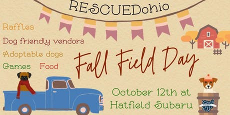RESCUEDohio Fall Field Day tickets