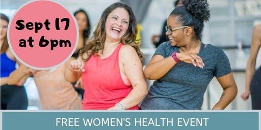 Break Free from Bladder Leaks - women's health event