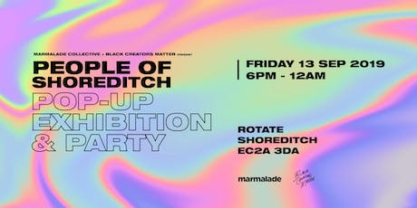 People of Shoreditch : The Exhibition tickets