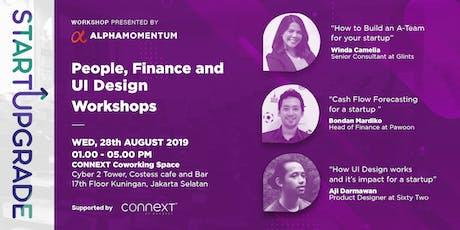 StartUpgrade :  People, Finance and UI Design workshop tickets