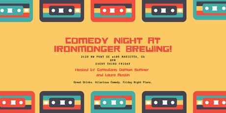 Comedy Night at Ironmonger Brewing tickets