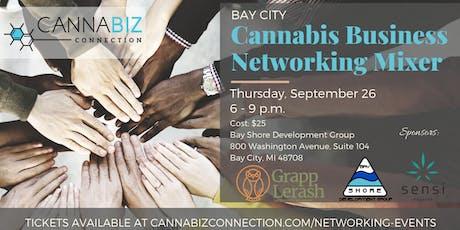 Bay City Cannabiz Connection Networking Mixer tickets