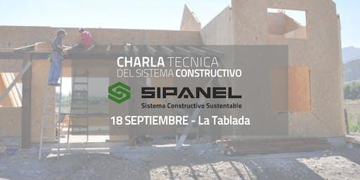 CHARLA T´ECNICA para Instalar con el Sistema Constructivo Sipanel