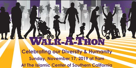Celebrating our Diversity & Humanity Walkathon tickets
