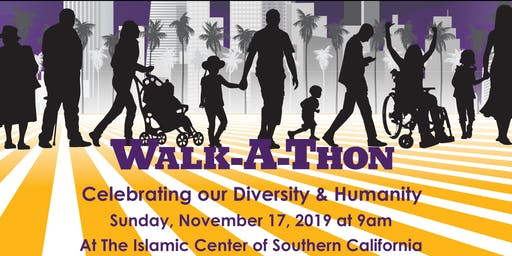 Celebrating our Diversity & Humanity Walkathon