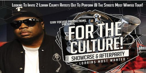 FOR THE CULTURE SHOWCASE & AFTERPARTY