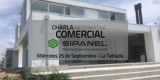 Charla COMERCIAL sobre SIPANEL y sus sistema de construcción