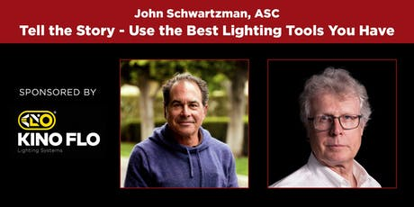 "A ""100 YEARS OF THE ASC"" EVENT - John Schwartzman, ASC  tickets"