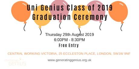 Generating Genius  presents Uni Genius Graduation 2019 tickets