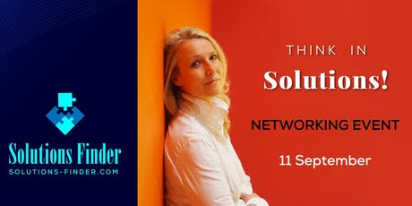 Think in Solutions! Solutions-Finder Networking Event tickets