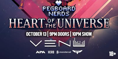 Pegboard Nerds - Heart of the Universe Tour