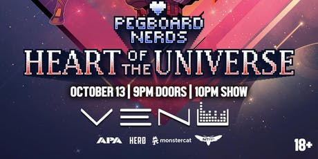 Pegboard Nerds - Heart of the Universe Tour tickets
