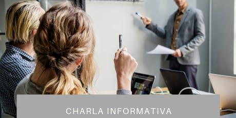 Liderazgo & Coaching - Charla Informativa entradas