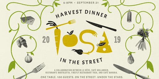 Tosa Harvest Dinner in the Street