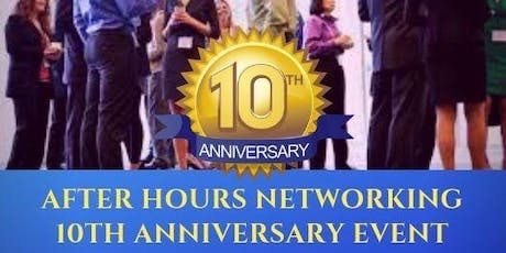 After Hours Networking 10th Anniversary Event tickets