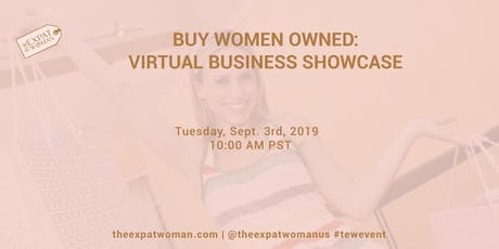 BUY WOMEN OWNED: Virtual Business Showcase tickets