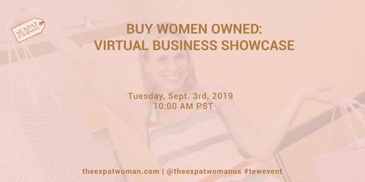 BUY WOMEN OWNED: Virtual Business Showcase