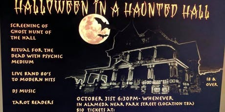 The Haunted Bay is Co- Hosting a Halloween Party - Film Screening tickets