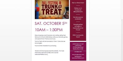 Fall Festival/Trunk or Treat