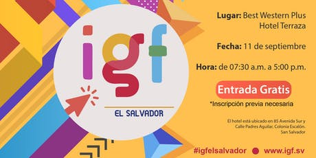 II Foro de Gobernanza de Internet El Salvador entradas