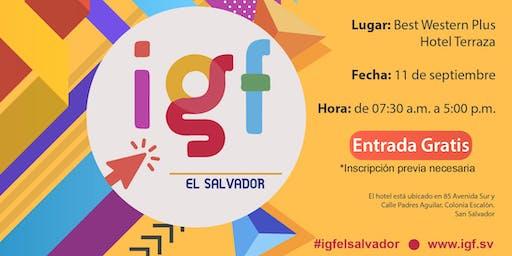 II Foro de Gobernanza de Internet El Salvador