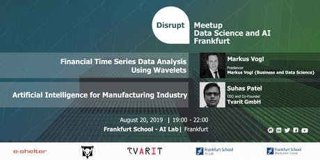 Data Science and AI in Financial and Manufacturing Sector tickets