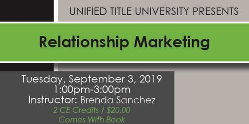 Colorado Springs - Relationship Marketing