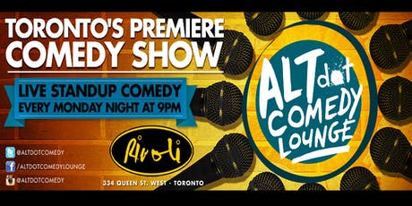 ALTdot Comedy Lounge - September 16 @ The Rivoli tickets