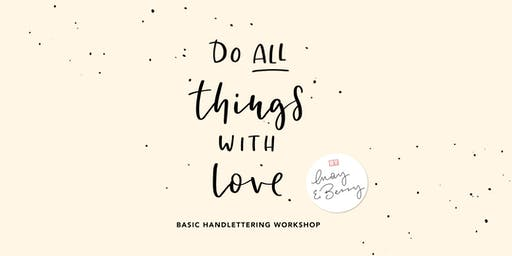 Basic Lettering Workshop 19. September 2019