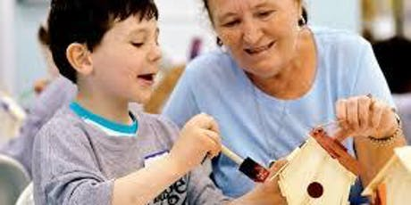 Kids Make and Take Birdhouse Painting Workshop tickets