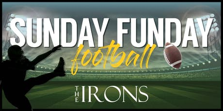 Sunday Funday Football at The IRONS Restaurant & Bar in Mystic, CT  tickets