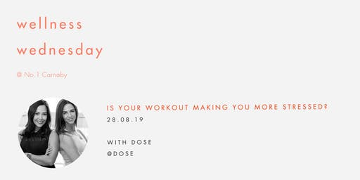 Wellness Wednesday by Sweaty Betty: Is your workout making you stressed?