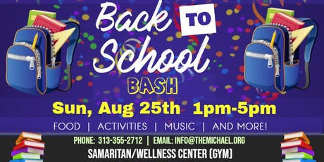 4th Annual Back to School Bash tickets
