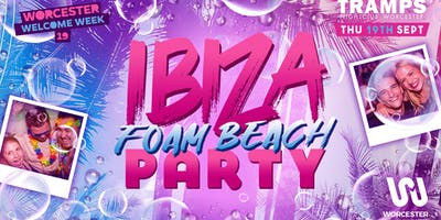 Ibiza Foam / Beach party!