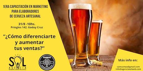 Marketing y ventas para elaboradores de Cerveza Artesanal entradas