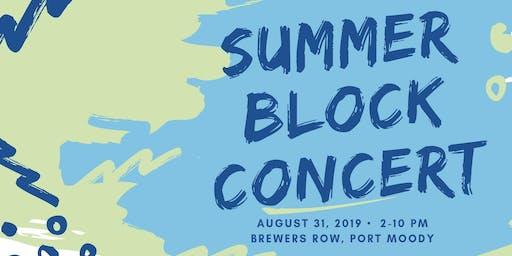 Port Moody Summer Block Concert