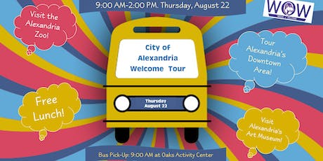 City of Alexandria Tour for New and Returning LSUA Students tickets