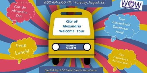 City of Alexandria Tour for New and Returning LSUA Students